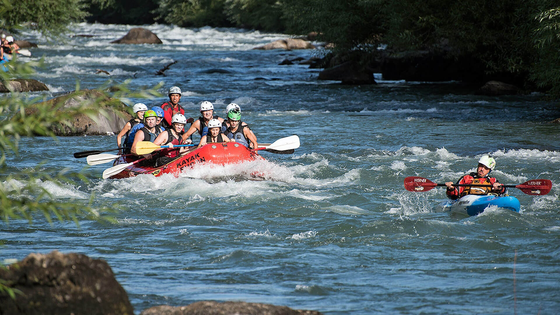 3 Days Kenya White Water Rafting on Athi River