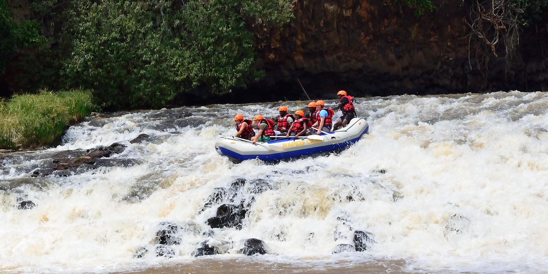 White Water Rafting Adventures in Kenya