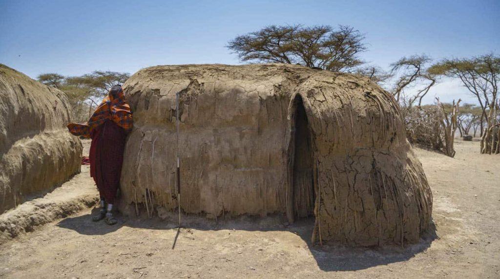 Maasai Huts Kenya