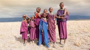 Maasai Tribesmen Tanzania