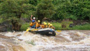 White water rafting adventure Kenya